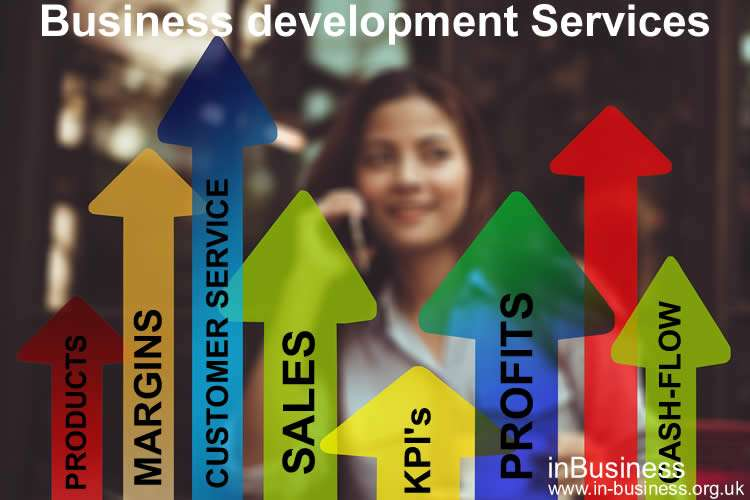 Business Development Services available. For Business Growth, Key Performance Indicator (KPI's) & Key Profit Driver Targeting by Russell Bowyer.