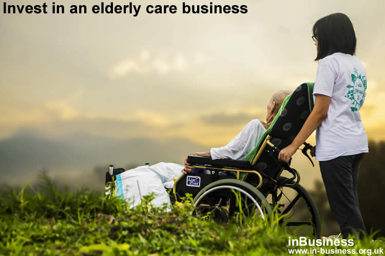 Invest as an entrepreneur in elderly care business and become managing director