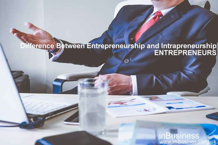 Difference Between Entrepreneurship and Intrapreneurship - Entrepreneurs