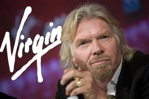 Sir Richard Branson - successful entrepreneur and leader of The Virgin Group