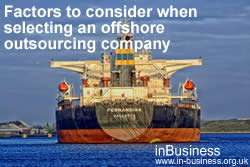 Advantages and Disadvantages of Offshoring - Factors to consider when selecting an offshore outsourcing company