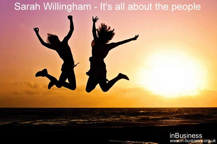 Dragons Den Sarah Willingham Entrepreneur its all about the people