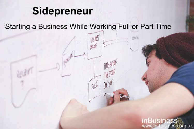 Sidepreneur - Starting a Business While Working Full or Part Time