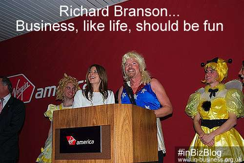 Sir Richard Branson Leadership Style Business should be fun