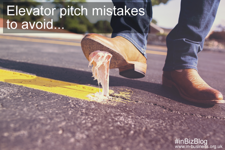 Elevator pitch mistakes to avoid