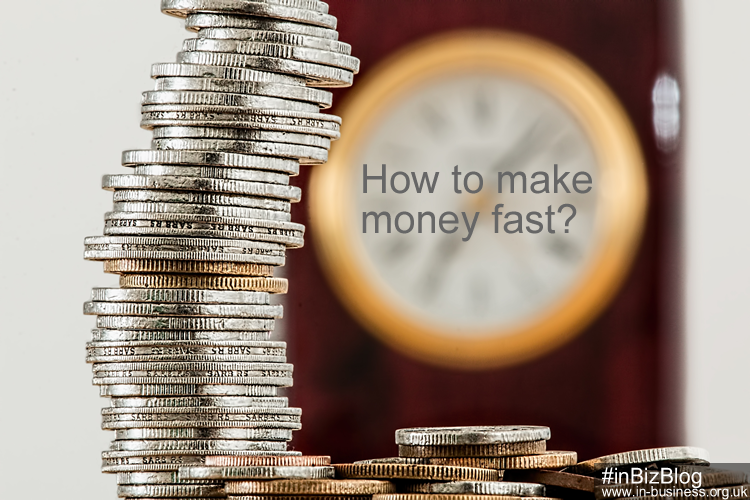 How to make money fast from a side hustle