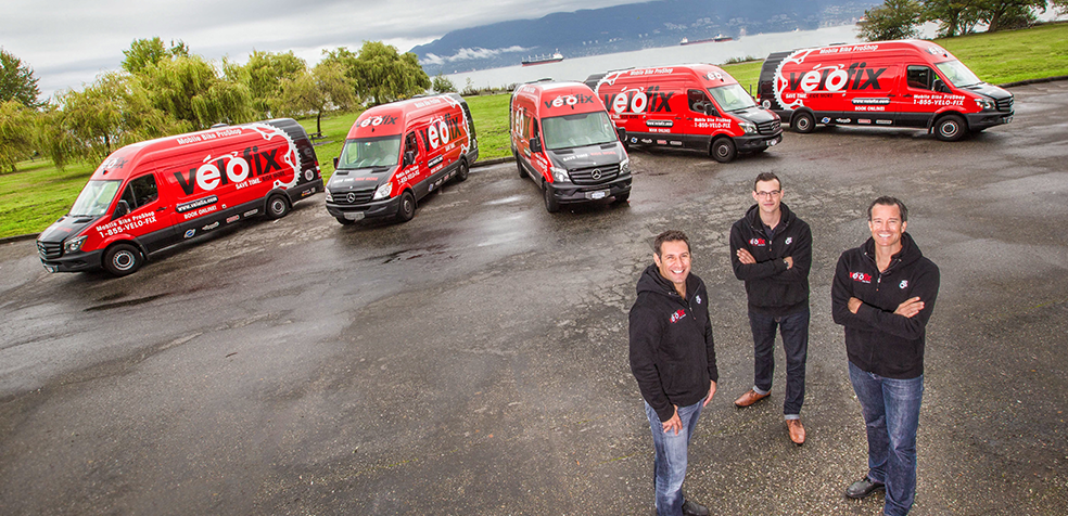 Velofix Mobile Bike Shop Jim Treliving Dragons Den investment