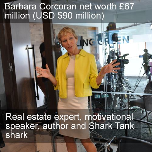 Barbara Corcoran net worth
