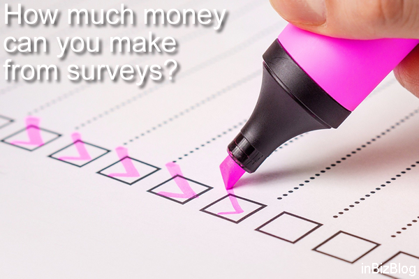 How much money can you make from surveys