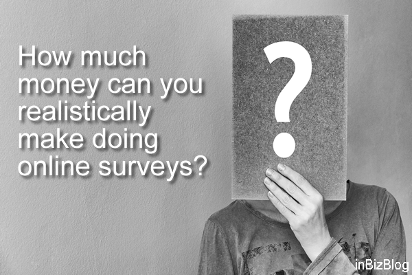 How much money can you realistically make doing online surveys
