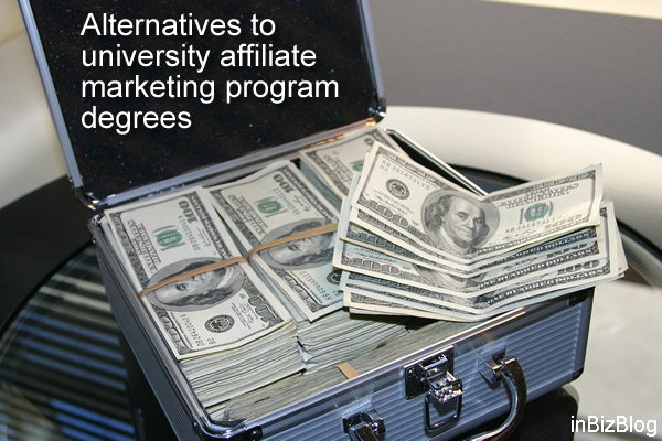 Alternatives to university affiliate marketing program degrees