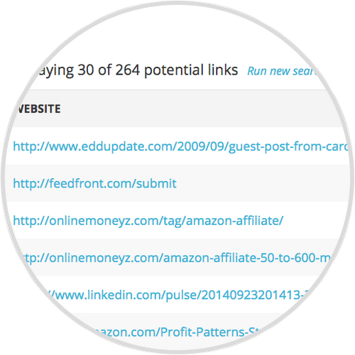 AffiloTools helps you to build backlinks better and faster by helping you to find high quality sites in your niche